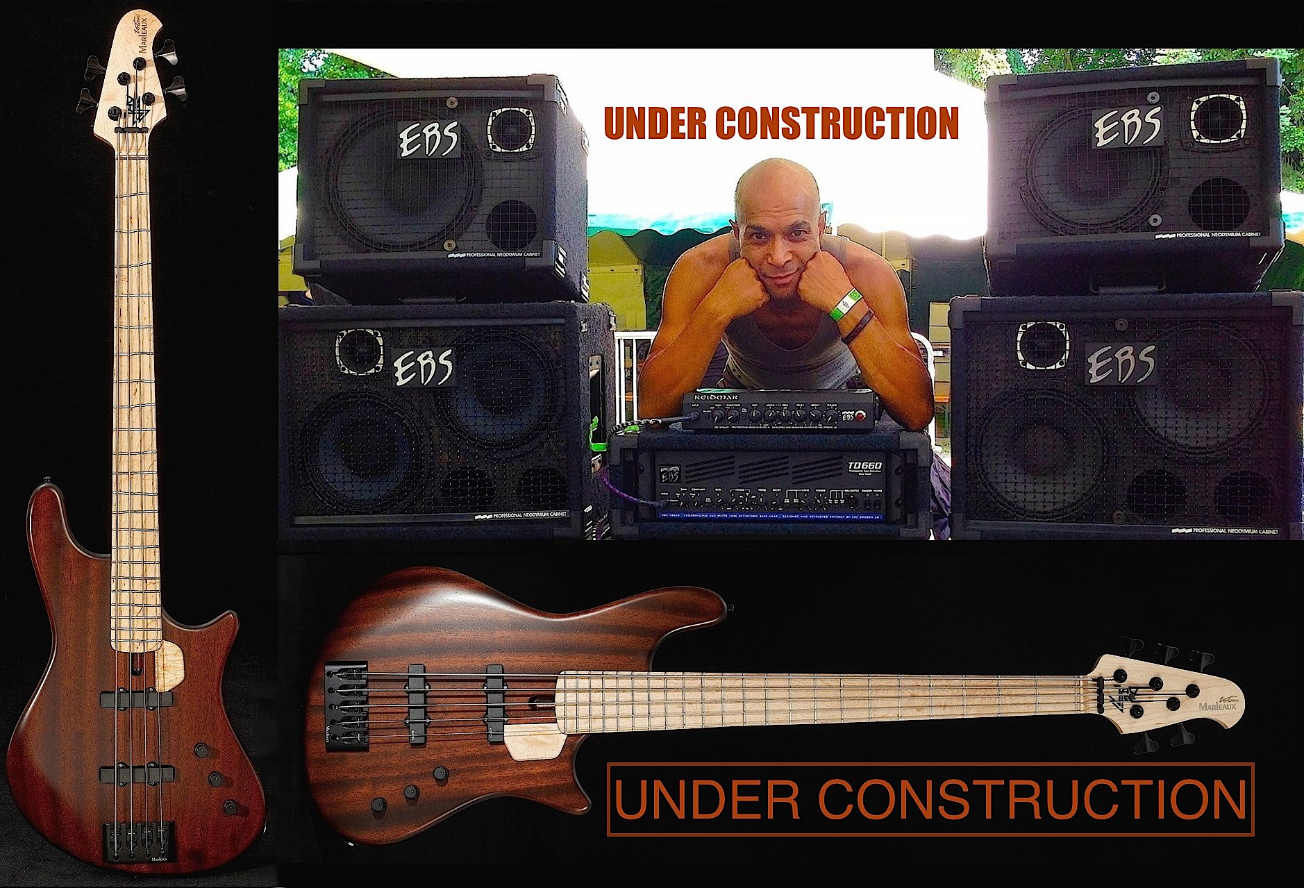 Jay-Tee Bass under construction